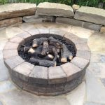 Outdoor Living Space - Brick Paver Fire Pit