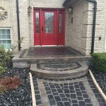 Brick Paver Walkway and Porch