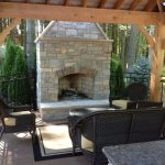 Outdoor Fireplace - Outdoor Living Space