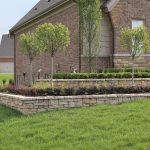 Rosetta Stone Retaining Walls with Plantings - Washington, MI