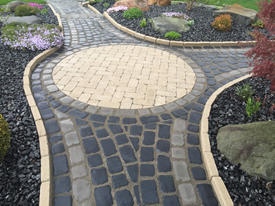Brick Paver Walkway - Shelby Township, MI