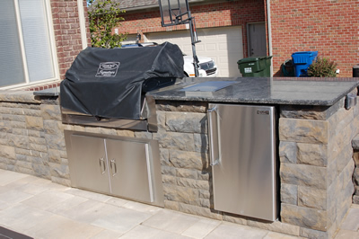 Outdoor Living Space Kitchen - Rochester Hills, MI