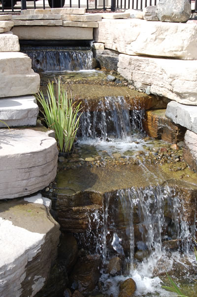 Natural Stone Landscape - Lake Orion, MI